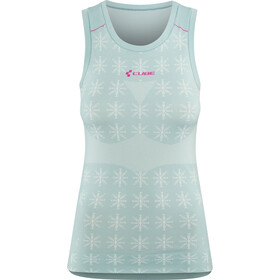 Cube Race Be Cool Sous-maillot sans manches Femme, grey'n'pink
